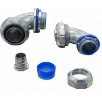 Buy cheap UL Listed Electrical Conduit Fittings Liquid Tight Conduit Connectors 90 Degree product