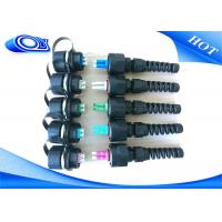 Buy cheap PE Jacketed Outdoor Fiber Optic Cable With ODVA LC Connector IP67 product