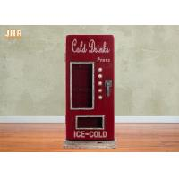 Buy cheap Beverage Machine Key Box Decorative Wooden Cabinet MDF Key Holders Wood Wall Key Box Red Color product
