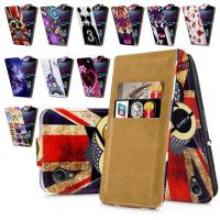 Xperia Z2  Sony Phone Cases flip phone back case with Different Printed Pictures