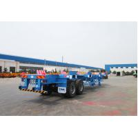 Buy cheap Commercial Small Flatbed Trailer 35 Tons Port Yard Chassis For Container Transporting product