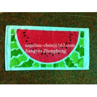 100% cotton printed gift towels