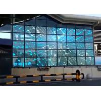 Buy cheap Transparent Glass Advertising Led Display Screen 5500 Nits Brightness P10.4 from wholesalers
