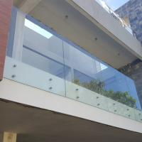 Buy cheap Stainless Steel Standoff Frameless Glass Railing for Stair / Pool in the Philippines product