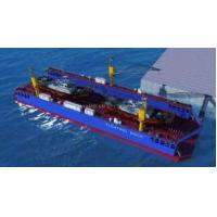 China Over 1000Ton Modular Floating docks for marine boat lifting Customized sized floating pontoons with stainless steel on sale