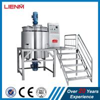 Buy cheap Best sale 500L Stainless Steel Liquid Soap Mixing Tank, Shampoo Making Machine, from wholesalers