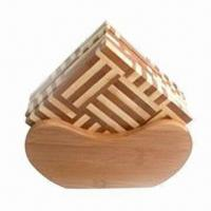 Buy cheap Cork Coaster, Made of Bamboo product