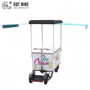 Buy cheap EQT Commercial Ice Cream Cart Electric Cargo Bike Scooter Freezer Tricycle for Vending Cold Drink product