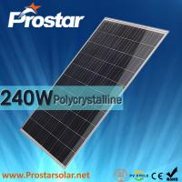 Buy cheap Prostar poly 240w cheapest solar pv panel from wholesalers
