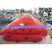 Buy cheap Strong PVC Tarpaulin Inflatable Iceberg Water Slide Toys for Amusement Park product