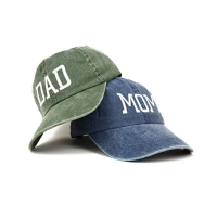 Buy cheap OEM Blue Denim Fabric Dad'S Cap For Husband Wife from wholesalers