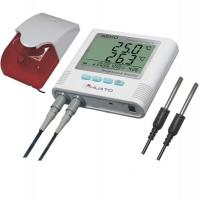 Buy cheap Plastic Material Temperature Humidity Data Logger For Cold Store 0.3 Degree Accuracy product