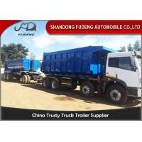 Buy cheap Tipper Draw Bar Trailer  For Agricultural Goods , Dumping TrailersWith Tow Bar product