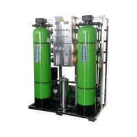 Single Reverse Osmosis 250LPH Water Plant RO System Pure Water Treatment Machine for sale