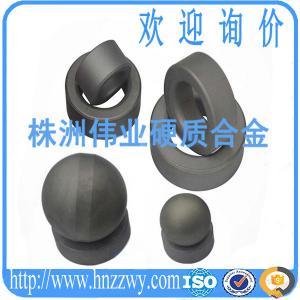 Buy cheap ZHUZHOU WEIYE CEMENTED CARBIDE BALLS BLANKS FOR BALL VALVES WITH VIRGIN CARBIDE MATERIALS product