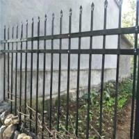 Buy cheap 1800mm X 2400mm Garrison Tubular Spear Top Metal Fence product