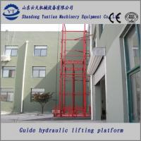 Buy cheap Hydraulic guide rail lifting platform of steel construction product