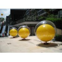 Double Layer Inflatable Advertising Balloons 2m PVC Inflatable Ball In Ball Manufactures