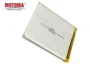 Buy cheap 3.7 V 2200mah Lithium Lipo Battery Rechargeable For Alcohol Tester product