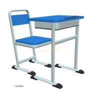 Buy cheap Custom Fixed Height Classroom Student Desk And Chair Set 5 Years Warranty from wholesalers