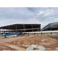 Buy cheap Big Span Construction Steel Structure With Mezzanine Office Floor product