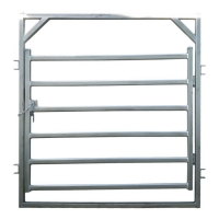 Buy cheap Painting Finish Cattle Gate 2.25 X 2.2m Corral Fence Panels product