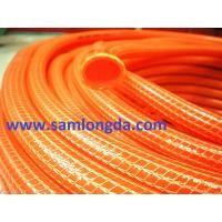 Buy cheap PVC Knitted Garden Hose (KH152225), red colour, knitted structure, supper flexible in winter product