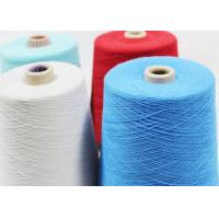 Buy cheap 100% Virgin Poly Yarn Thread , Spun Sewing Polyester Thread Good Fastness from wholesalers