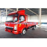 Buy cheap HOWO 4T Light Duty Commercial Trucks Commercial Box Truck ISO product
