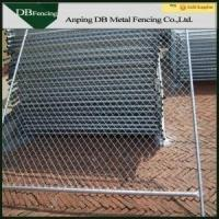 Buy cheap 6'X12' Outdoor Temporary Chain Link Fence For Building Site / Swimming Pools product