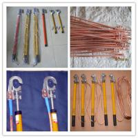 Buy cheap Earth rod and fitting&grounding devince,+copper wire+hook product