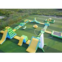 Buy cheap Large Size Aqua Blow Up Water Playground Durable High Safety With Air Pump product