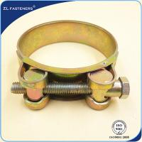 Buy cheap Heavy Duty Stainless Steel Hose Clamps T Bolt Hose Clamps Single / Double Bolts product