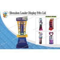 Buy quality Free Standing Portable Promotional Cosmetic Carton Displays For Mildy Wash at wholesale prices