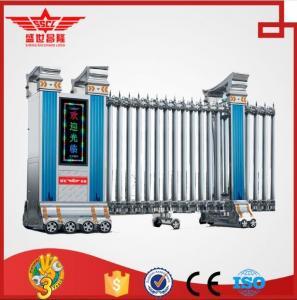 Factory automatic sliding gate with sensor system -- J1308