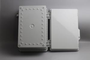 Buy cheap IOT Sensors Latching Lid Hinged Plastic Enclosures Watertight product