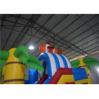 Buy cheap OEM High Safety Obstacle Course Bounce House 30 Minutes Set Up Time 6x5x3.5m product