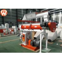 Buy cheap 150kw Pellet Production Equipment , Stable Performance Farm Industry Feed Pellet Plant product