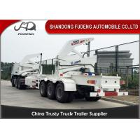 Buy cheap Tri Axle Side Loader Container Truck / 16-37 Ton Self Loading Container Truck product