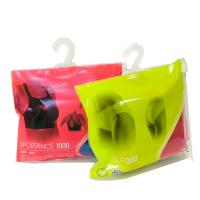 Buy cheap Plastic slider zip lock with hook hanger for sock bag underwear bag from wholesalers