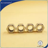 Buy cheap DIN934 Zinc Plated  Steel Hex Nut Grade 4.8 Plain Finish For Car Parts product
