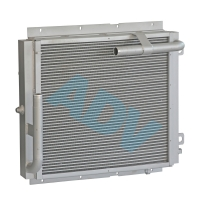 Buy cheap Chinese Manufacturer Custom Design Aluminium Bar Plate Heat Exchanger For Construction Machinery Cooling product