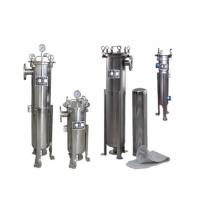 China 1um - 100um Filtration Precision Liquid Filter Housings For Water Treatment Plant on sale