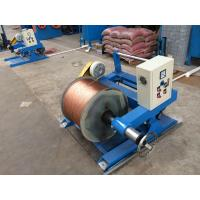 Buy cheap Auto Copper Wire Twisting Machine With Multiple Head Passive Tension Pay Off Optional product