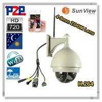 China wireless home security camera system 3x Zoom WiFi Outdoor Security Monitor IP camera on sale