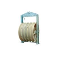 Buy cheap 822mm Mc Wheels Cable Stringing Nylon Pulley Block product