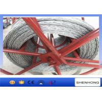 Buy cheap High Strength Anti Twist Wire Rope 20 mm for Transmission Line Stringing product