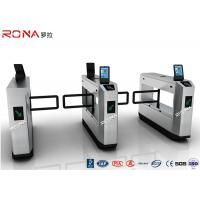 Buy cheap Stainless Steel Swing Facial Recognition Turnstile 900mm Arm Length CE Approved product