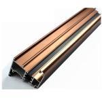 Buy cheap U Shaped Aluminium Profile ,  Mechanically Polished Aluminium Corner Profile Joint product