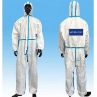 Buy cheap Elastic / Knitted Cuff  Eco Friendly Disposable PPE Gowns OEM ODM product
